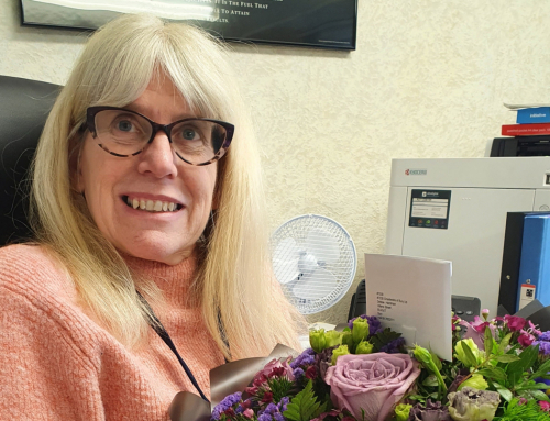 Debbie celebrates 40th work anniversary at Chadwicks